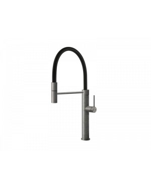 Gessi 316 Kitchen 60012 countertop single lever sink tap with hand shower