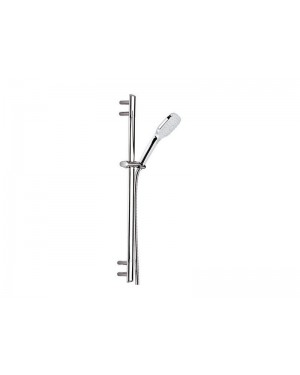 Daniel Tiara A3883CP wall mounted slide rail with hand shower 4 functions