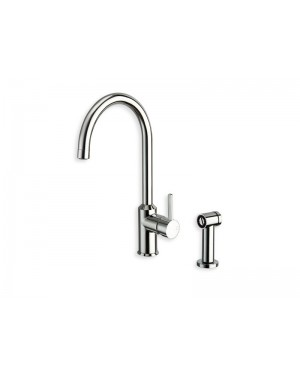 Cristina kitchen tap Contemporary Lines single lever kitchen tap with pull out shower KK524