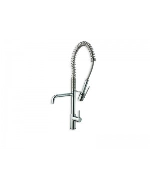 Cristina kitchen tap Contemporary Lines single lever kitchen tap with pull out spay KT506