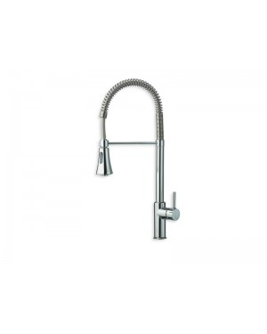 Cristina kitchen tap Contemporary Lines single lever kitchen tap with pull out spay KT507