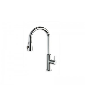 Cristina kitchen tap Contemporary Lines single lever kitchen tap with pull out spay KK530