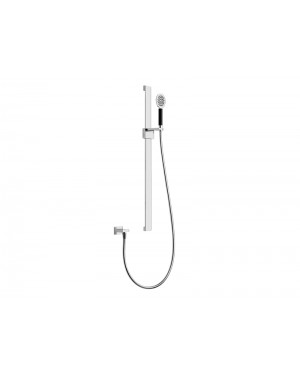 Gessi Private Wellness Tremillimetri 39833 wall mounted slide rail with handshower
