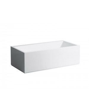 Kartell by Laufen hot tubs angular hot tub with case 2.2433.6.000.616.1