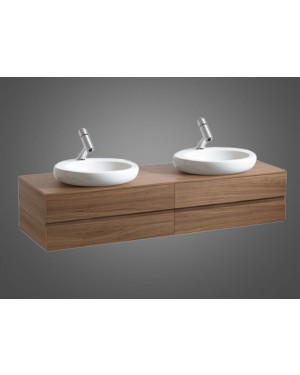 Laufen furniture Alessi One furniture for sink 8.1397.1 with 2 drawers 4.2424.4