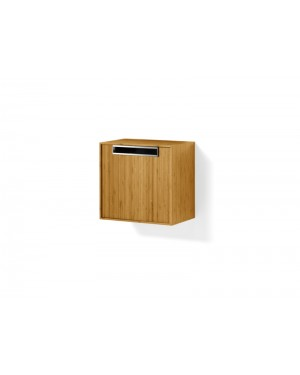 Lineabeta furniture Canavera unit for washbasin 40cm in bamboo 81154