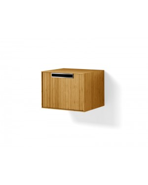 Lineabeta furniture Canavera unit for washbasin 50cm in bamboo 81155