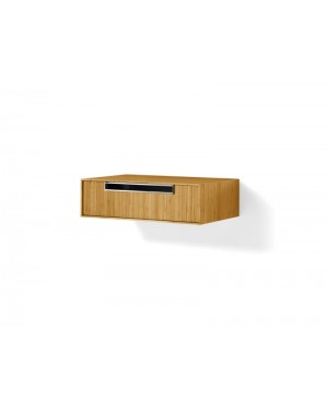 Lineabeta furniture Canavera unit for washbasin 70cm in bamboo 81167
