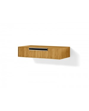 Lineabeta furniture Canavera unit for washbasin 90cm in bamboo 81169