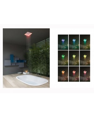 Antonio Lupi Meteo METEO1 ceiling mounted shower head with Led