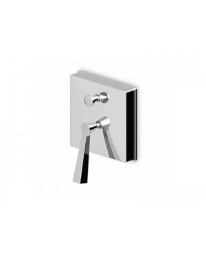 Zucchetti Bellagio ZP3612 wall mounted single lever shower mixer with diverter