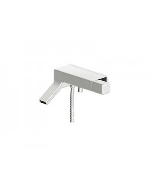 Zucchetti hot tub faucet Faraway external hot tub faucet with diverter and hand[White]